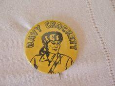 Davy Crockett Badge