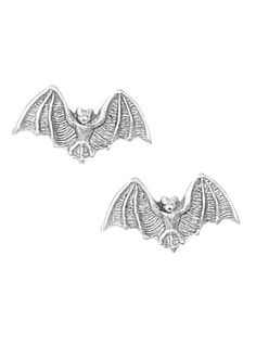 Rockabilly Clothing - Bitty Little Bats Earrings by Plasticland Jewelry Rockabilly Outfits, Rockabilly Fashion, Rockabilly Clothing, Dark Fashion, Gothic Fashion, Cool Costumes, Halloween Costumes, Gothic Jewelry, Unique Jewelry