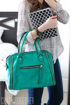 I love this purse! I could fit my daughter in there. :)