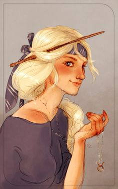 Victoire Weasley by Natello's Art