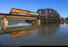 RailPictures.Net Photo: BNSF 6617 BNSF Railway GE ES44C4 at Trout Creek, Montana by Mike Danneman