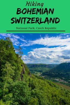 Did you know there is some incredible hiking in Czech Republic? We visited the north of the country for two days hiking in Bohemian Switzerland National Park and were blown away by its beauty. Get Outdoors, The Great Outdoors, Hiking Europe, Travel Europe, European Travel, Reserva Natural, Travel Destinations, Travel Tips, Travel Guides