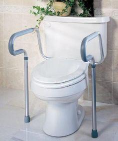 398f43ed4720b Guardian Toilet Safety Frame. Bathroom FixturesToilet SeatsBathroom ...
