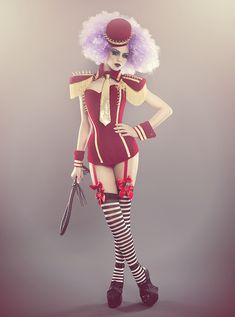 Circus with spikes