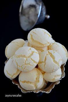 nişastalı beyaz kurabiye tarifi