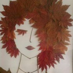 Leaf Art Event Samples – Leyla Oğuz – Willkommen in der Welt der Stiefel Autumn Crafts, Autumn Art, Nature Crafts, Leaf Crafts, Diy And Crafts, Crafts For Kids, Arts And Crafts, Art Floral, Theme Nature