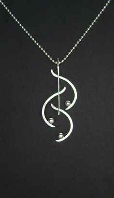 Sterling Silver Contemporary Necklace