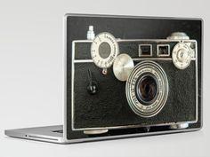 Vintage Range finder camera. Laptop & iPad Skin