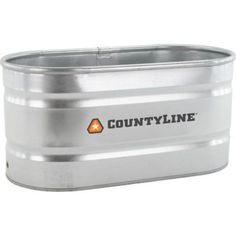 $84.99 CountyLine Oval Galvanized Stock Tank, 2 ft. W x 4 ft. L x 2 ft. H, 100 gal. Capacity in the Stock Tanks category at Tractor Supply Co.Coun