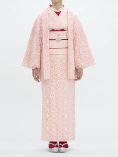 Double Maison pink kimono