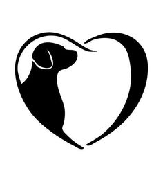Book folding pattern of Dog in heart. Checkout our crazy pattern packages Dog Tattoos, Tatoos, Dog Quilts, Book Folding Patterns, Silhouette Cameo Projects, Silhouette Design, Scroll Saw Patterns, Pyrography, Dog Art