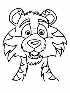 Afbeeldingsresultaat voor kleurplaat ssst de tijger slaapt