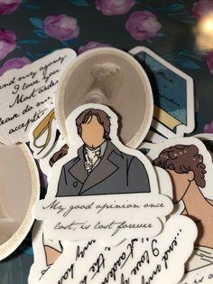 Pride And Prejudice Elizabeth, Mr Darcy, Cat Aesthetic, Jane Austen, Book Worms, Nerd, Wonderful Life, Ship, Stickers