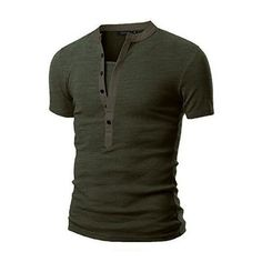 Simple V Neck T Shirt