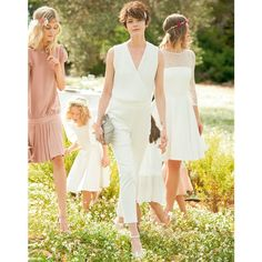LA REDOUTE Mademoiselle R Wedding Jumpsuit. Pinned by Amy of www.amysshop.co.uk on High Street Wedding Finds.