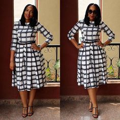 Hello dearies, as we always say comfortability is the key word to any outfits you put on. When it comes to picking/selecting church outfits, some people Church Dresses For Women, Office Dresses For Women, Clothes For Women, Church Outfits, Church Outfit Winter, Latest African Fashion Dresses, African Print Fashion, African Attire, African Dress