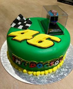 birthday cake #VR46 - Mugello