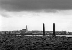Richard Serra, Afangar (Stations, Stops on the Road, To Stop and Look: Foward and Back, To Take it All In), 1990, Videy Island, Reykjavik