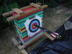 Foam Archery Target Can be re-shuffled multiple times, once the center gets shot out.Can be re-shuffled multiple times, once the center gets shot out. Archery Range, Archery Tips, Archery Hunting, Deer Hunting, Turkey Hunting, Coyote Hunting, Hunting Bows, Field Archery, Hunting Camouflage