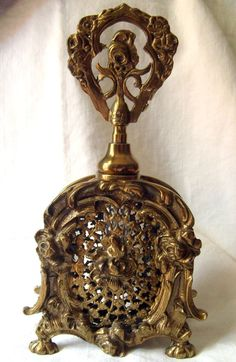 Czech perfume bottle brass ebay - Google Search