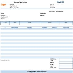 Purchase Order Invoice Download At HttpWwwTemplateinnCom