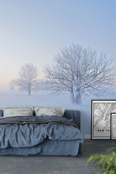 Winter Wall Mural - Wallpaper