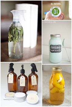 7 Natural Homemade Cleaners