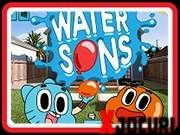 The Amazing World Of Gumball: Water Sons - Gameplay All Games, Free Games, Cartoon Network, Bean Games, Mr Bean, World Of Gumball, Free Fun, 100 Free, All Family