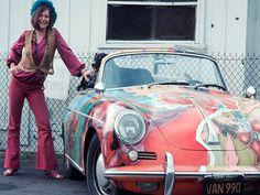 El psicodélico Porsche de Janis Joplin se encuentra disponible para ser vendido por la casa de subastas RM Sotheby's en diciembre.