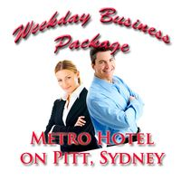 Weekday Business Package at Metro Hotel on Pitt
