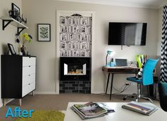 Learn how I transformed part of my home into holiday rental apartment (Airbnb). See, room by room, the changes that were made. Holiday Apartments, Rental Apartments, When I Dream, Tv Bracket, Walk In Wardrobe, Charity Shop, Dining Nook, Living Room Pictures, Soft Furnishings