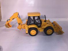 Bruder Toys JCB 4CX Fully-Functional Backhoe Loader with Tread Tires | 02428-BR #BruderToys