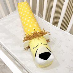 Baby crib bumper LION KING Pillow Handmade Bolster Pillow