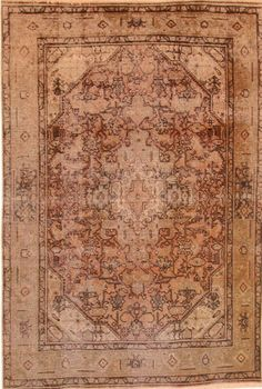 Wunderschöner Perser Teppich Vintage Handgeknüpfte alfombra 310 x 197 Patchwork