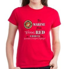 MThis Marine Mom Wears RED on Friday