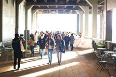 Holy light!  High Line park by The Daily Muse.      cc @rebecca baust