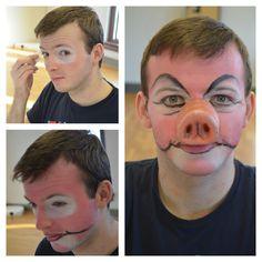 Shrek make up workshop: The 3 Little Pigs #sltshrek