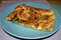 Cheese Tarts, Ham And Cheese, Spanakopita, Quiche, Zucchini, Breakfast, Ethnic Recipes, Food, Cheese Pies