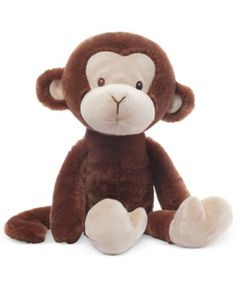 Gund Baby Nicky Noodle Monkey Stuffed Toy