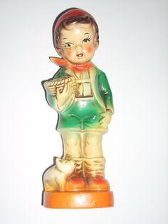 vintage HUMMELL style ceramic figure VINTAGE by COTTAGEGOLD, $18.00