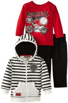 Kids Headquarters Baby-boys Infant Stripes Hoody with Red Tee and Jeans, Cream, 12 Months Kids Headquarters,http://www.amazon.com/dp/B00CHZNCJM/ref=cm_sw_r_pi_dp_6hSttb0A8WVA2332