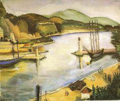"""""""Porto de Mônaco"""" - Anita Malfatti - 1925-26"""