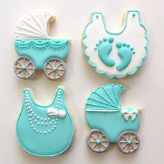 Baby shower cookies - Love the bib Fancy Cookies, Iced Cookies, Cute Cookies, Royal Icing Cookies, Cupcake Cookies, Sugar Cookies, Cupcakes, Royal Frosting, Baby Girl Cookies