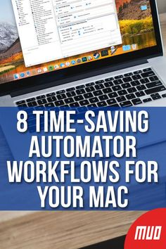 The Automator app on your Mac makes it easy to automate tedious tasks. Here are awesome time-saving workflows you should set up. Apple Mac Computer, Computer Tips, Computer Laptop, Macbook Hacks, Mac Tips, Mac Make, Macbook Accessories, Best Laptops, Van Life