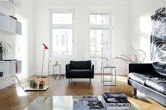 Interiors: Beautiful Swedish Home! | Art And Chic #interior #apartment
