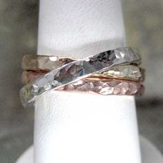 hammered russian wedding band
