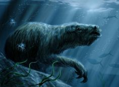 The marine sloth was a sloth evolved to live in the ocean and eat seagrass off the west coast of south america.  They lived only 6 million years ago.