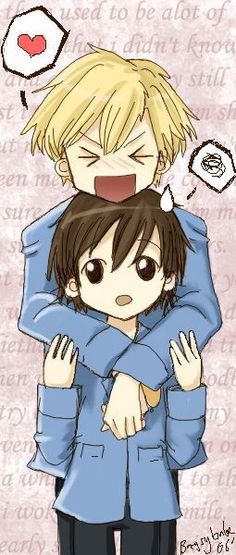 Ouran~ why can't tamaki realize he's in love