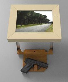 1000 Ideas About Hidden Gun On Pinterest Gun Cabinets