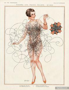 Hérouard 1926 En Avril, ne te découvre pas d'un fil - Costume Couture ı New Orleans, LA ı http://www.costumecouture.net/